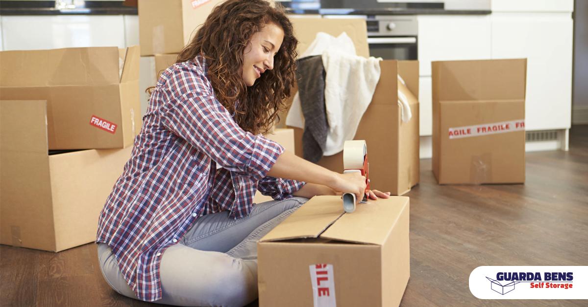 10 dicas para organizar seu espaço no Self Storage